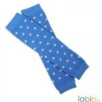 Jambières Hellblau-Dots Ecru 0405