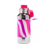 Pura Sport Isolierflasche 475 ml Pink Swirl   .