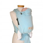 Storchenwiege BabyCarrier mit Hüftgurtschnalle Aqua | .