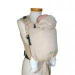 Storchenwiege BabyCarrier mit Hüftgurtschnalle Natur | .