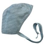 Babymütze Biobaumwolle Blau/grau 359 x | 50/56
