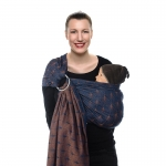 Babylonia BB-SLING Jacquard Ornate Blue 504