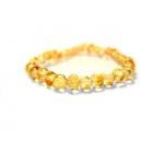 Bracelet d'ambre champagne