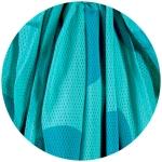 MaM Wasser Tragetuch (Water Wrap Sling) Big Dots Turquoise | .