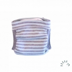 Popolini EasyFree Interlock 0359/Blue Grey Strip | L
