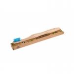 ecobamboo Brosse à dents adultes medium blau