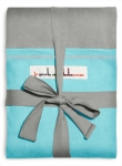 Love Radius, par JPMBB Gris clair, poche Turquoise