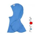 Manymonths Woll-Elefantenmütze (ElephantHood) Provence Blue   S/M