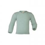 Engel Baby-Schlupfhemd Wolle/Seide Gletscher 30E | 62/68
