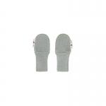 Manymonths Woll-Handschuhe (Mittens) Silver Cloud | M/L