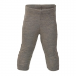 Engel Baby-Legging Wolle/Seide Walnuss 75 | 62/68