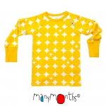 ManyMonths ECO Shirt kurz/langarm Sun Circles | XXL