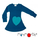 MANYMONTHS – ROBE-TUNIQUE A MANCHES LONGUES