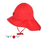 ManyMonths Summer Hat Original (Mütze) Poppy Red | S/M