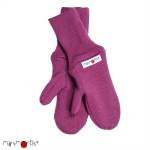Manymonths Woll-Handschuhe (Mittens) Frosted Berry | XS/S
