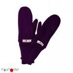 Manymonths Woll-Handschuhe (Mittens) Majestic Plum | XS/S