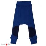 ManyMonths Woll-Longies UNIQUE mit Kniepad Jewel Blue | M/L-