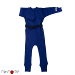 Manymonths Woll-Overall (One Piece Suit) Jewel Blue | S/M