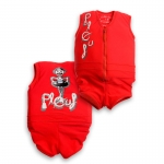 Plouf Maillots Flottants Jim Rouge