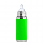 Pura Biberon isotherme 260 ml Green   .