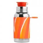 Pura Sportflasche 550ml OrangeSwirl | .