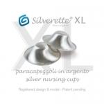 Silverette Still-Silberhütchen XL Ø 5 cm