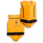 Plouf Schwimmender Badeanzug Sportif Jaune
