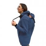 Wear Me Wolljacke 4in1 blau