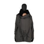 Wombat Wallaby Tragejacke Grey/Black | S
