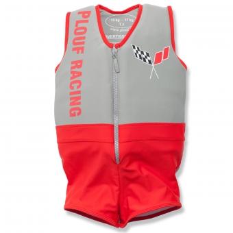 Plouf Schwimmender Badeanzug Flash Rouge