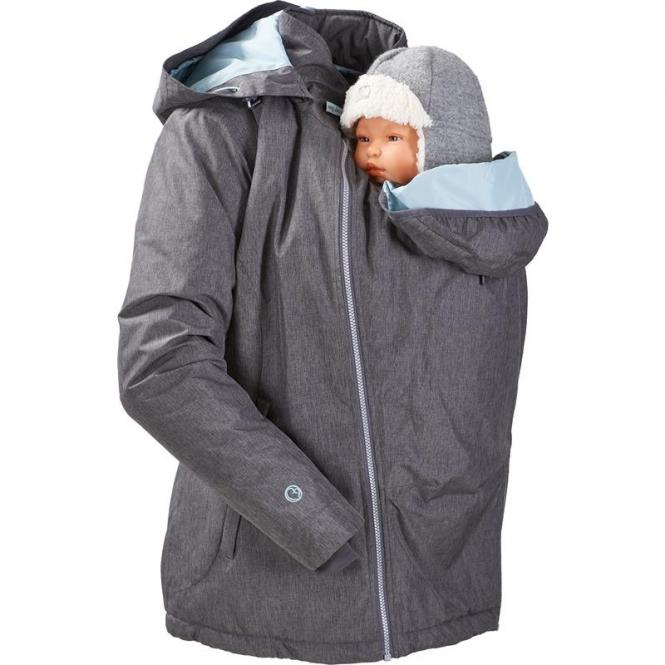Mamalila Winterjacke für zwei Ice-grey   L